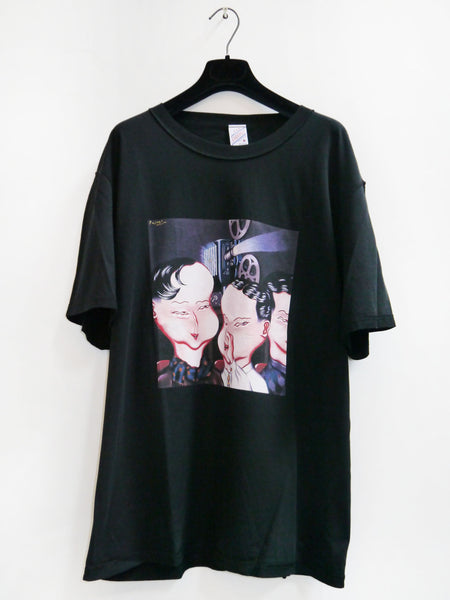 SM033 SECRET T-SHIRT - BLACK