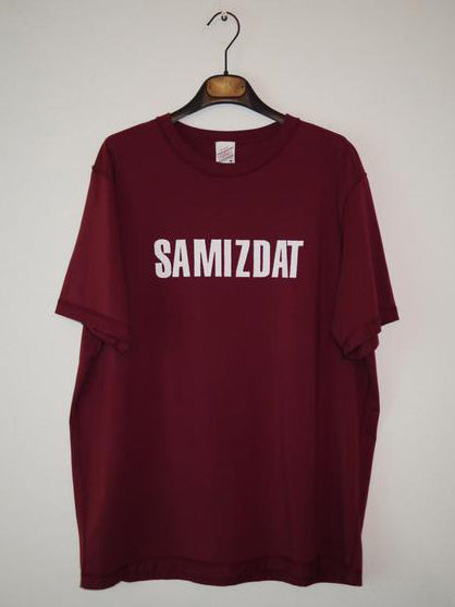 SM005 LOGO T-SHIRT - DARK RED