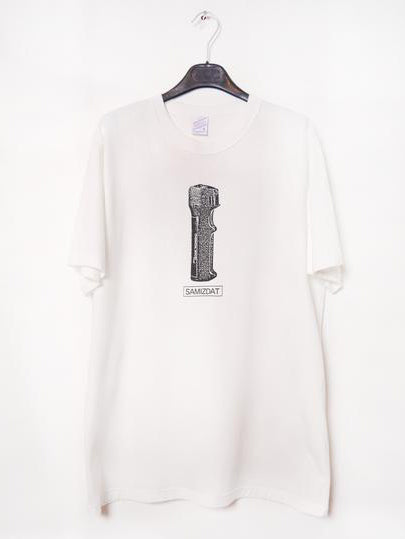 SM063 CHEMICAL MACE T-SHIRT - OFF WHITE
