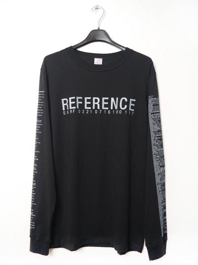 SM066 REFERENCE 3.0 LONGSLEEVE T-SHIRT - BLACK