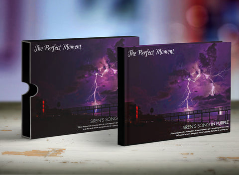 The Perfect Moment Book Sleeve --- Concept 1