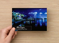 """Blue Lagoon"" One-of-a-Kind Postcard (Set of 10)"
