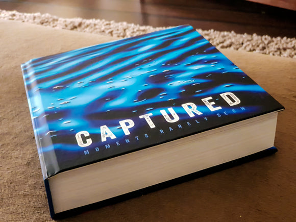 PRE-ORDER - Captured Moments Rarely Seen - Premium Lay-Flat Coffee Table Book (95 pages)