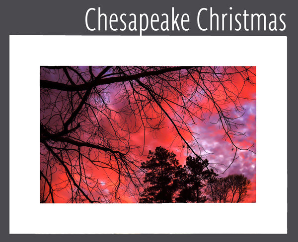 """Chesapeake Christmas"" Matted Print"