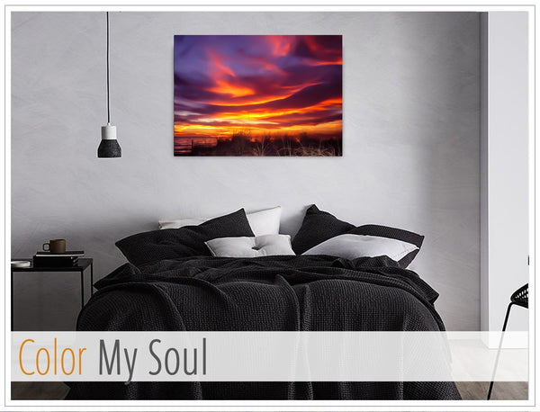 """Color My Soul"" - Original photo on Canvas"