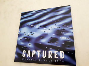 Captured Moments Rarely Seen - Softcover (8.5 x 8.5)