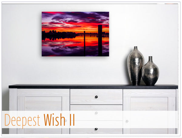"""Deepest Wish II"" - Original photo on Canvas"