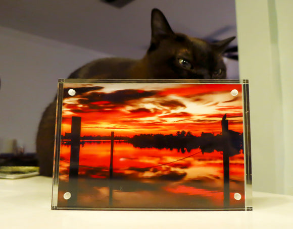 Acrylic Picture Frame (4x6) -