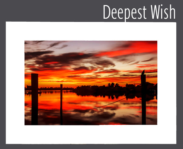 """Deepest Wish"" Matted Print"
