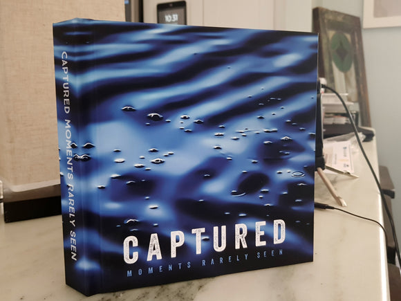 Captured Moments Rarely Seen Premium Lay-Flat Coffee Table Book (65 pages)