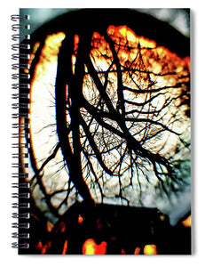 Fire In The Sky - Spiral Notebook
