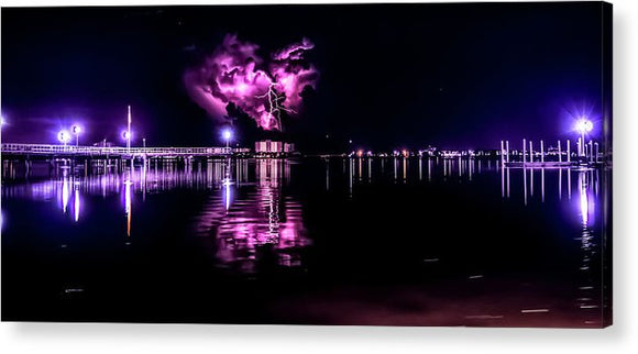 Purple Heart - Acrylic Print