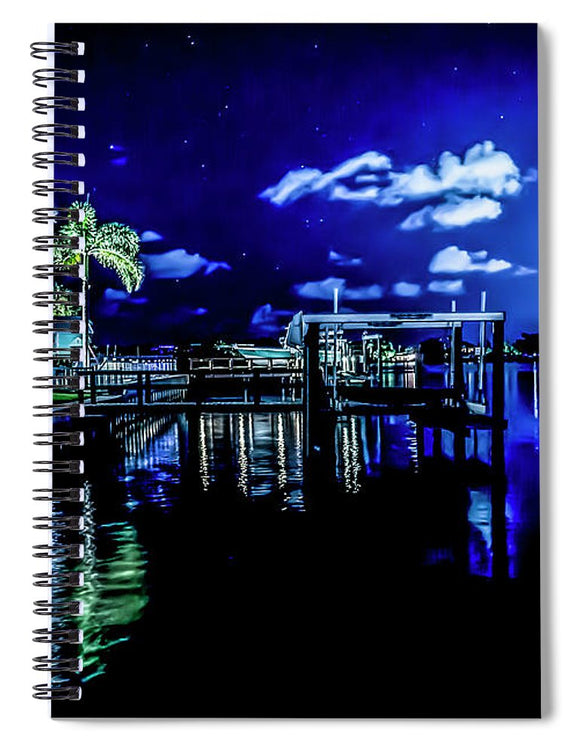 The Blue Lagoon - Spiral Notebook