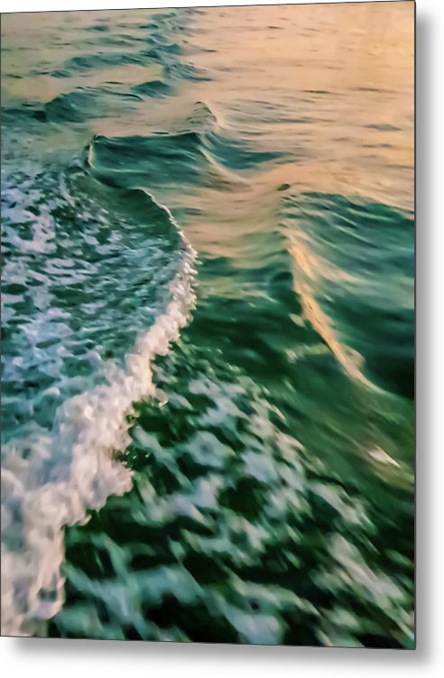 Wake Effect - Metal Print