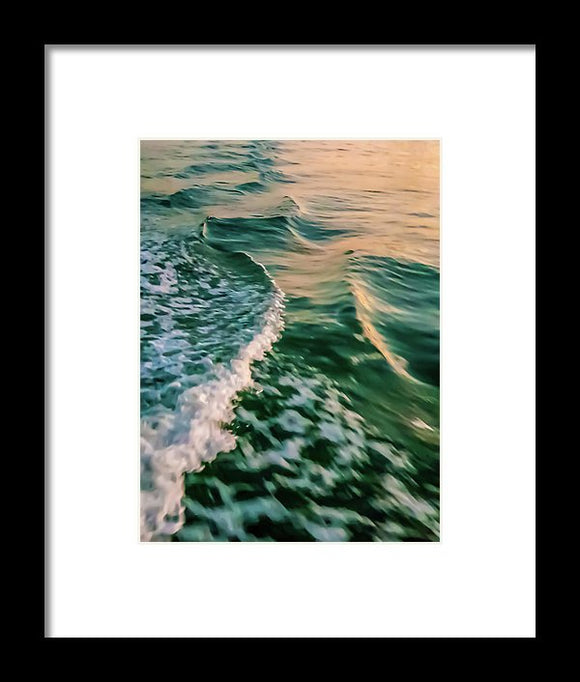 Wake Effect - Framed Print