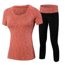 Load image into Gallery viewer, Women Two Piece Fitness Yoga Set