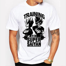 Load image into Gallery viewer, Super Saiyan Design Men's T Shirt