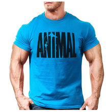 Load image into Gallery viewer, Men's Animal Muscle T Shirt T-Shirts Fit Gear Online fitness, men, muscle Fit Gear Online Free Shipping Free Shipping