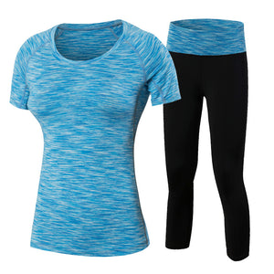 Women Two Piece Fitness Yoga Set
