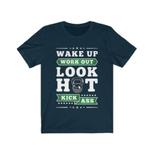 Load image into Gallery viewer, Wake Up Work Out T-Shirt