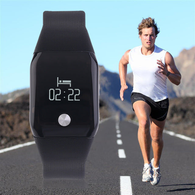 A88 Smart Intelligent Heart Rate Fitness Bracelet