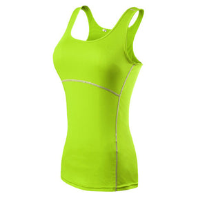 Women's Quick Dry Sleeveless Fitness Shirt Yoga Shirts Fit Gear Online Fit Gear Online Free Shipping Free Shipping