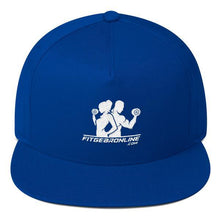 Load image into Gallery viewer, Fit Gear Online Flat Bill Cap (Click for more colors)