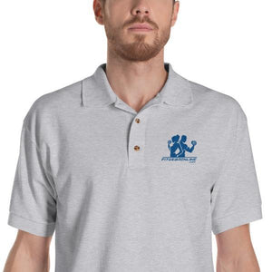 Fit Gear Online Embroidered Polo Shirt
