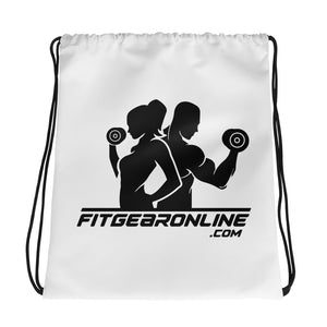 Fit Gear Online Drawstring Bag