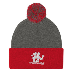 Fit Gear Online Pom Pom Knit Cap