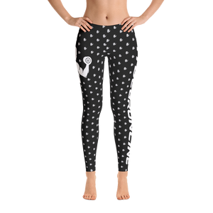 Fit Gear Online Black White Leggings