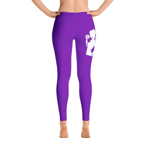 Fit Gear Online Purple Leggings