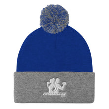 Load image into Gallery viewer, Fit Gear Online Pom Pom Knit Cap