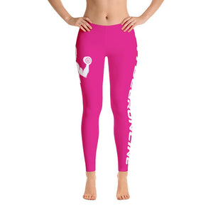 Fit Gear Online Pink Leggings