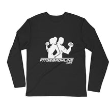Load image into Gallery viewer, Fit Gear Online Long Sleeve Fitted Shirt