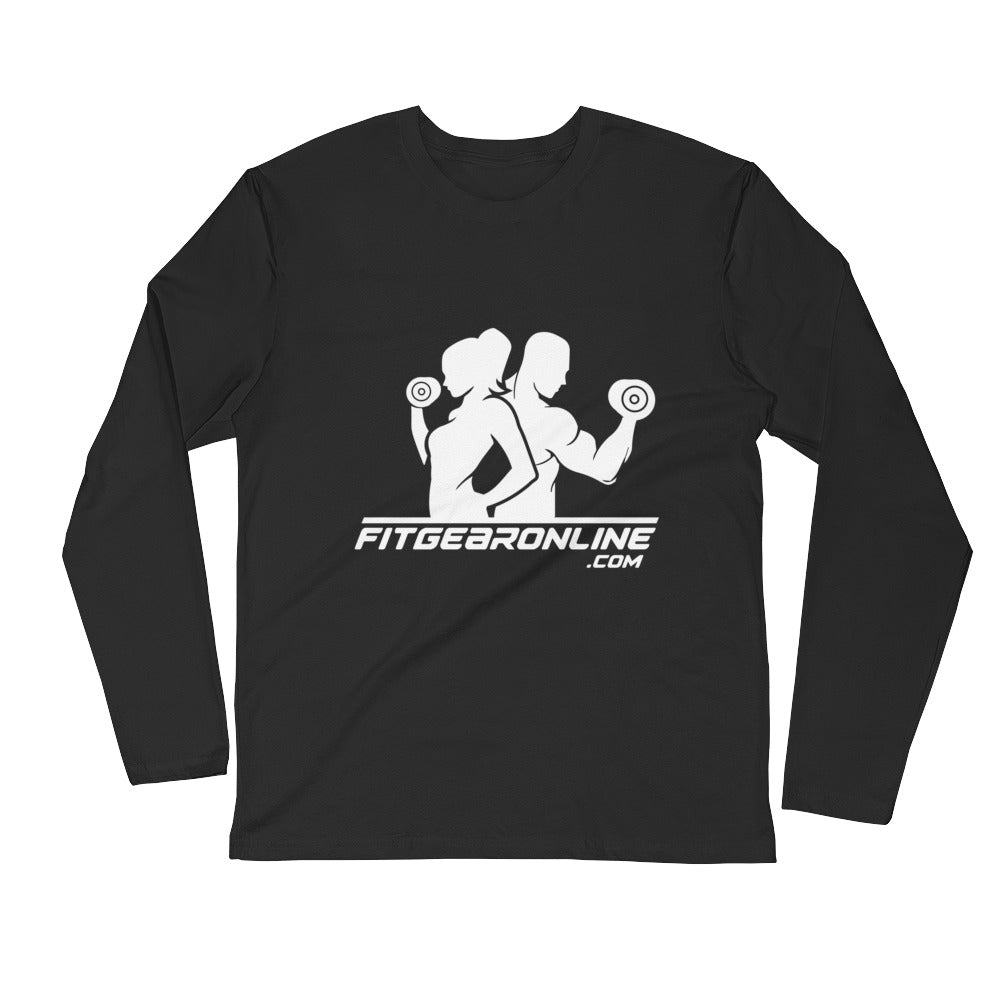 Fit Gear Online Long Sleeve Fitted Shirt