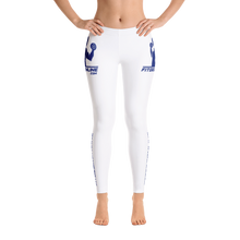 Load image into Gallery viewer, Fit Gear Online Solid White Blue Leggings