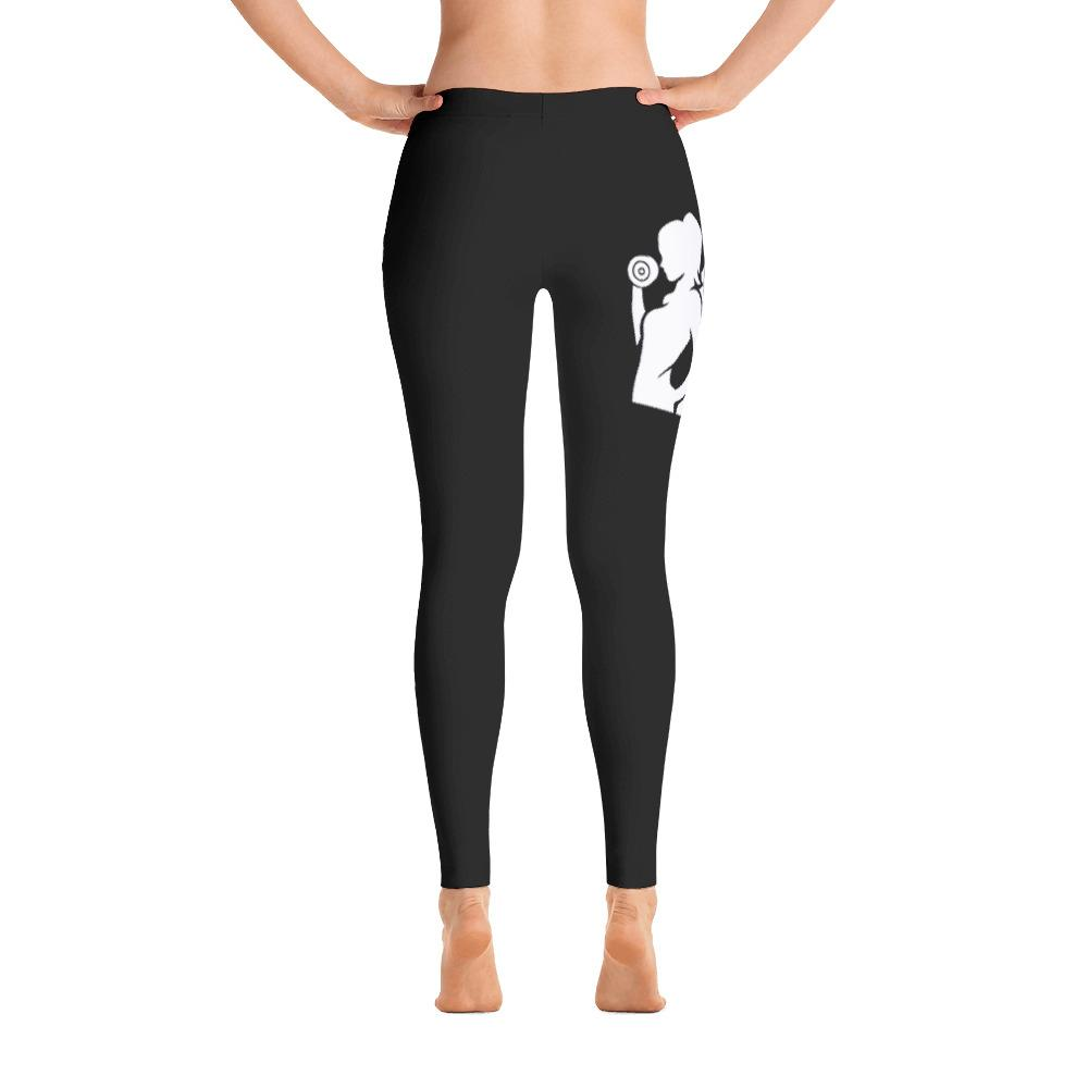 Fit Gear Online Black & White Leggings