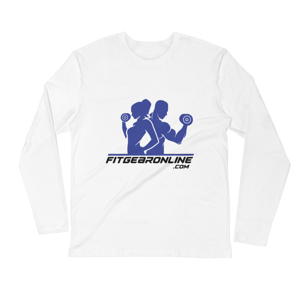 Fit Gear Online Long Sleeve Fitted Crew Shirt