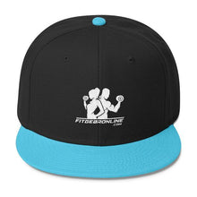 Load image into Gallery viewer, Fit Gear Online Wool Blend Snapback Cap (Click for more colors)