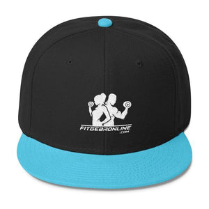 Fit Gear Online Wool Blend Snapback Cap (Click for more colors)