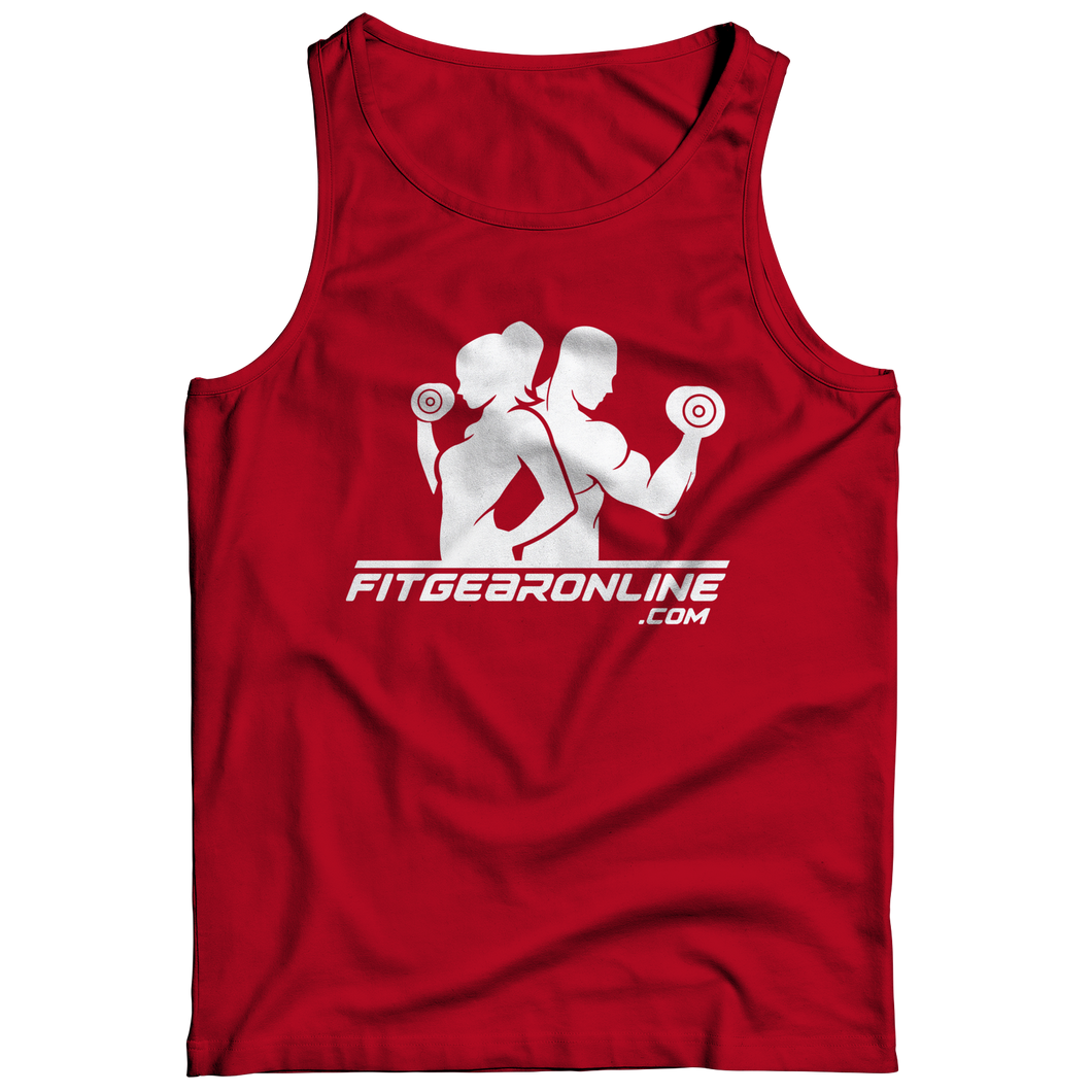 Fit Gear Online Red Tank Top