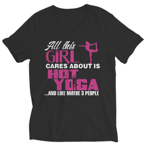 All This Girl Cares About Is Hot Yoga Limited Edition Shirt