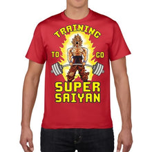 Load image into Gallery viewer, Men's Super Saiyon Fitness Casual T-Shirt