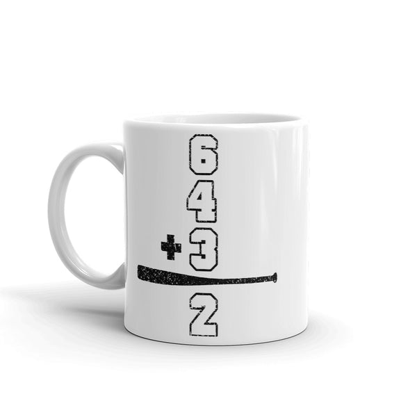 Double Play Math Mug