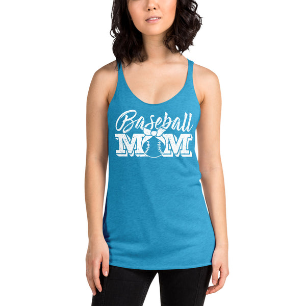 Baseball Mom Womens Racerback Tank