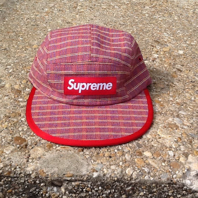 87b141efcca Supreme Nepal Woven Fitted Camp Cap – ArrayOfSoles