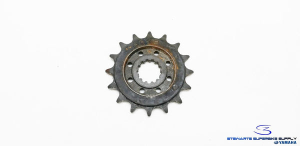 YAMAHA YZF R6 R6R OEM 16 TOOTH 16T FRONT SPROCKET 2C0-17460-00-00 06-16