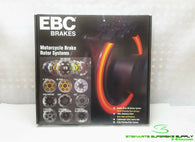 EBC XC CONTOUR SERIES FRONT BRAKE ROTOR MD4161XC 08 - 15 ZX10R ZX10 RACE #2