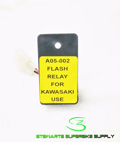 KAWASAKI TURN SIGNAL RELAY REPLACES 27002-1101 ZR750 ZZR600 ZX10 VN900 + A05-002